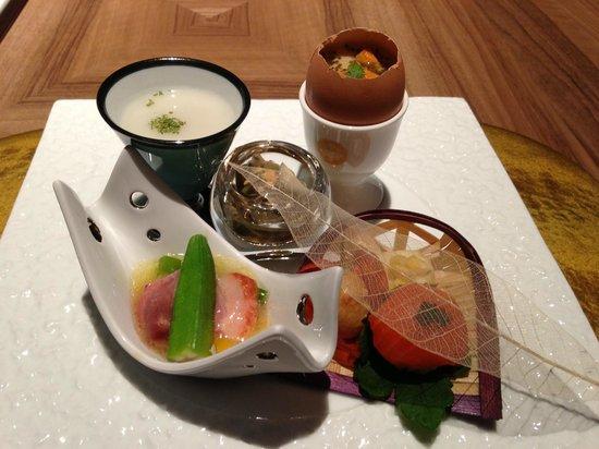 Kanaya Hotel Kinugawa: Dinner Starter
