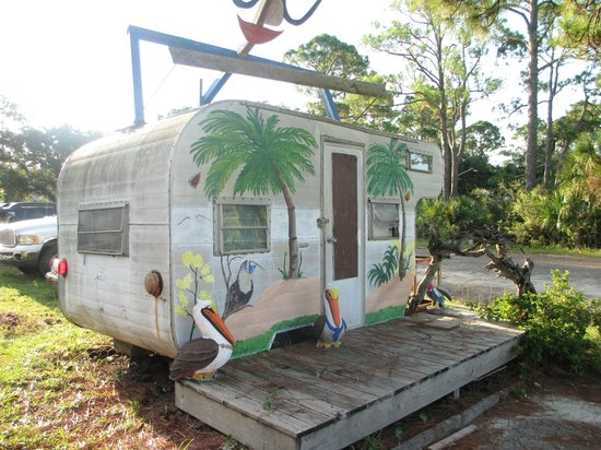 2 Brothers at the Beach Cafe: World Headquarters - Two Al's  - Carrabelle, FL