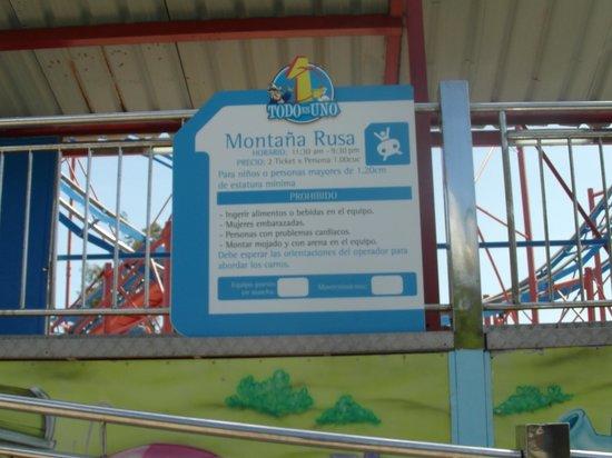 Todo en Uno: Montaña Rusa, Roller Coaster