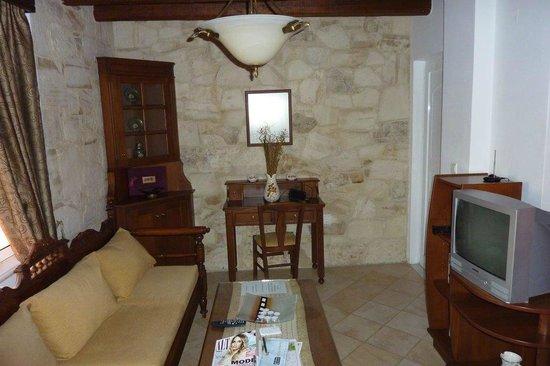 Ilios Village : Sitting room