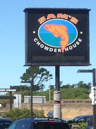 Sam's Chowder House: Sams' First Stop