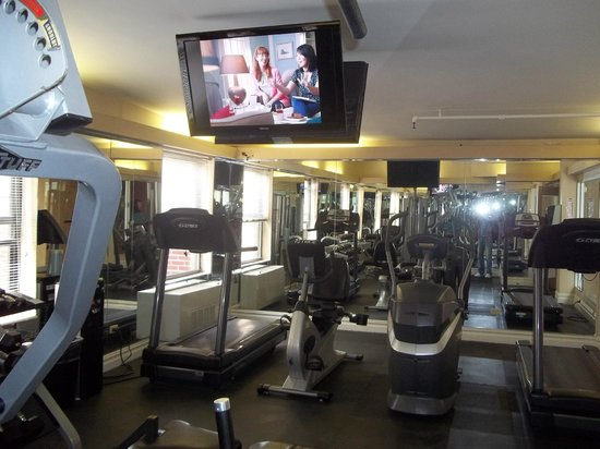 salle de sport - picture of hotel metro, new york city - tripadvisor