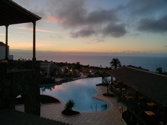 Meliá Hacienda del Conde: Vista desde terraza del comedor