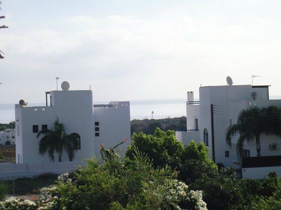 Mandalena ApartHotel: view off balcony