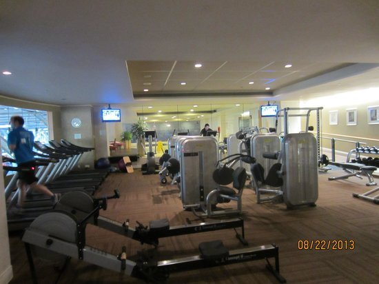 Fairmont Vancouver Airport: The gym