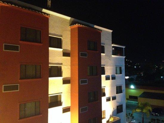 Hotel Real del Rio Tijuana: Vista nocturna