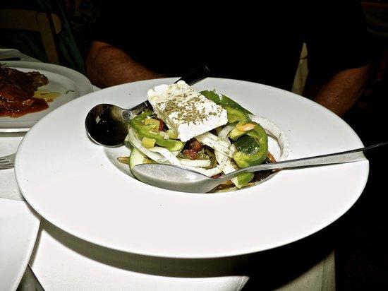 Ferryman Taverna: Greek Salad