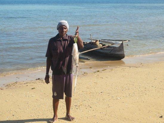 Antoremba - Lodge: pesce appena pescato