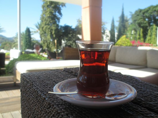 Isil Club Bodrum : Some afternoon Turkish Tea.