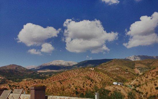 Cortijo Piltraque: prachtig uitzicht