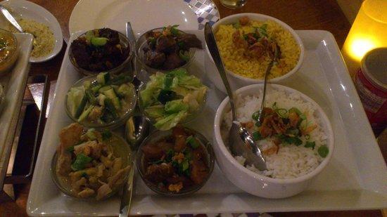 Tujuh Maret : The restaurant speciality - low/medium spicy