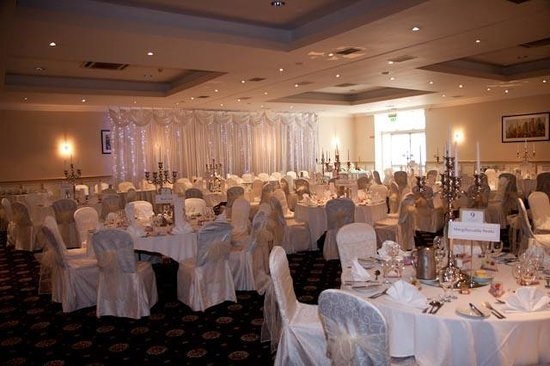 Woodlands Hotel Wedding Reception Room