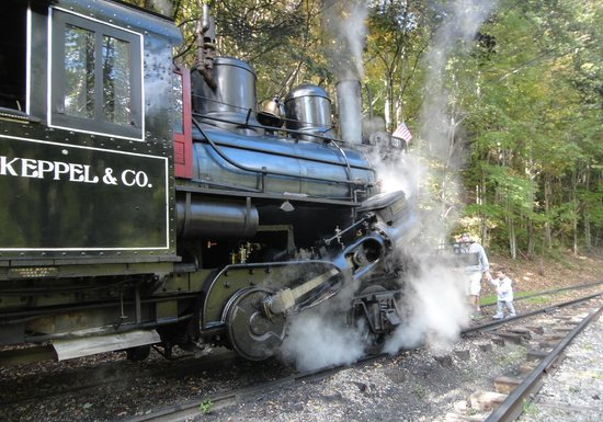 Durbin Greenbrier Valley Railroad: Almost ready for the return trip