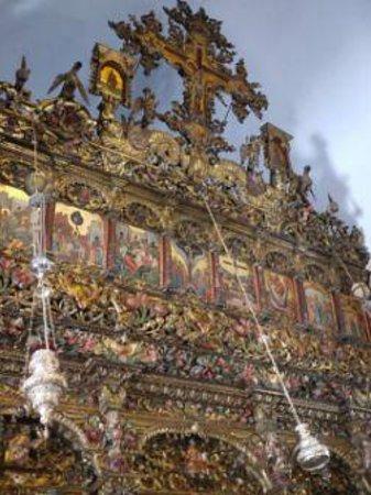 Monastery of Panayia Tourliani: inside the church