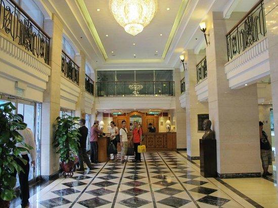 Hotel Sintra : reception counter