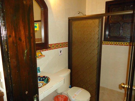 Hotel Posada Jovel : Baño...