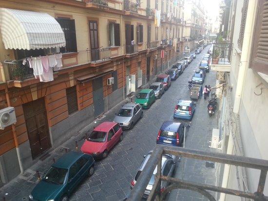 Hotel Ideal : Desde el balcon