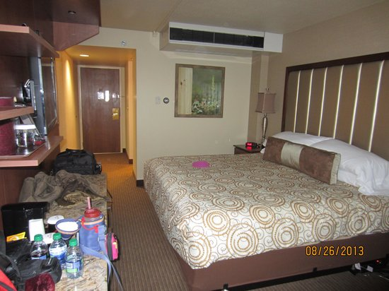 Westmark Fairbanks Hotel and Conference Center: our room
