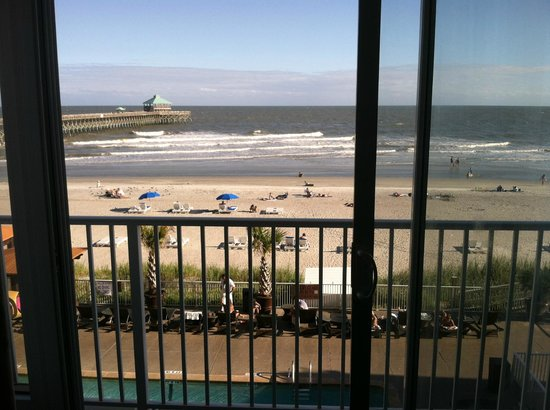 Tides Folly Beach: View from our Room