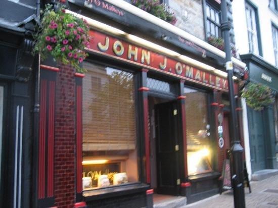 J.J O'Malleys Bar & Restaurant: John J. O'Malley's