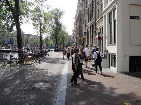 Radisson Blu Hotel, Amsterdam: Amsterdã pela janela