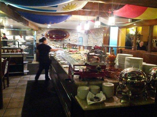 Brazilian Grill: Food Buffet Bar