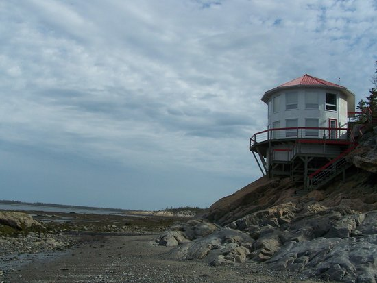 Coastal Trails at Rimouski River : A marée basse, quel bonheur d'y marcher