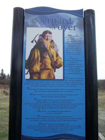 Coastal Trails at Rimouski River : Stationnement Bernard Voyer