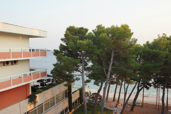 Hotel Zora: widok z balkonu