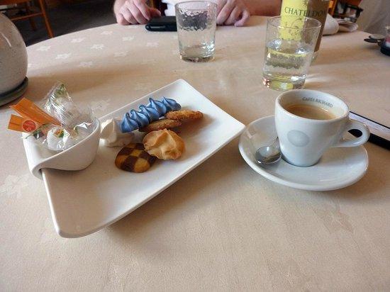 Hostellerie de la Poste: mon café !