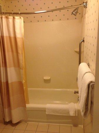 Residence Inn Irvine John Wayne Airport/Orange County : Tub/shower