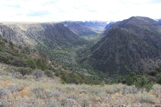 Frenchglen, OR: Big Indian Gulch, Steens, 09/13