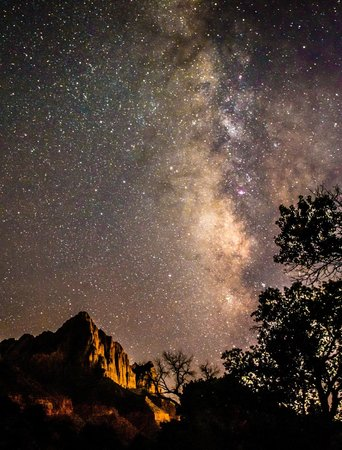 Zion Adventure Company : Milky Way Shot with Seth Hamel's expert guidance and advice