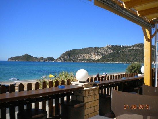 Ammos Seaside in Saint George: view1