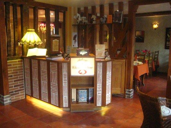 Auberge du Cheval Blanc: Reception