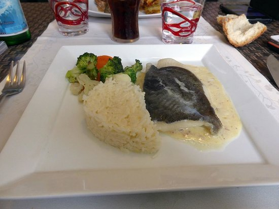 Hotel Restaurant La Pomme d'Or : mon poisson