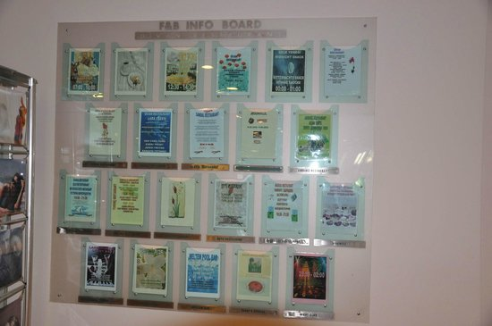 Barut Lara: Info Board...At Lobby