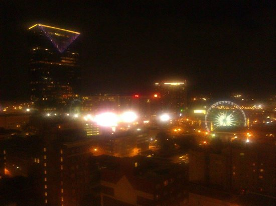 Residence Inn Atlanta Downtown: View from the 18th floor!