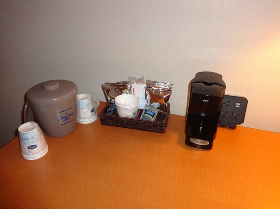 Hampton Inn Orlando International Drive/Convention Center: cafeteira