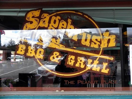 Sagebrush BBQ & Grill: Front Window