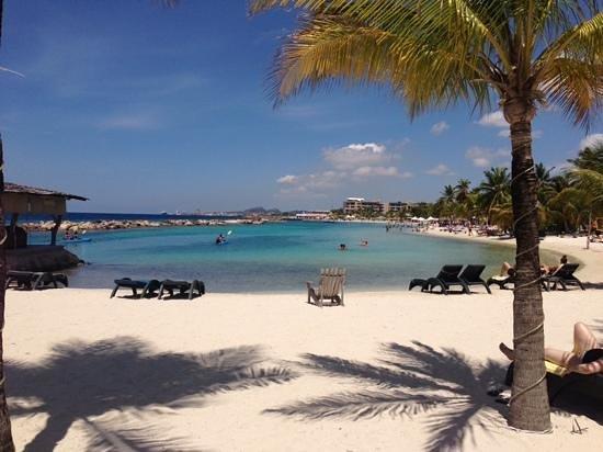 Lions Dive & Beach Resort Curacao: traumblick auf die Lagune
