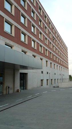 Madrid Marriott Auditorium Hotel & Conference Center: Fachada lateral del Hotel