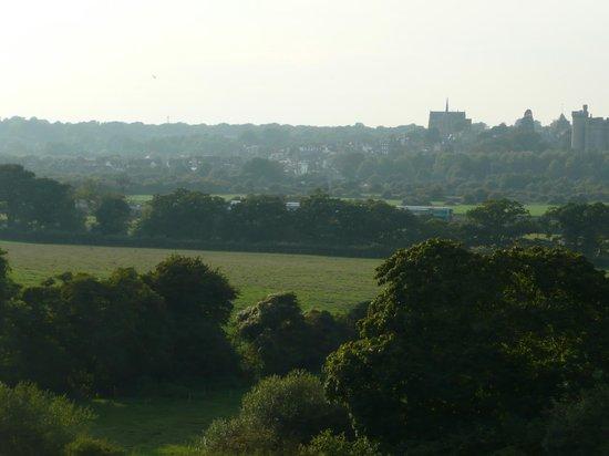 Nurses Cottage Bed & Breakfast: View across to Arundel