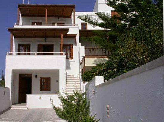Villa Venus: Τα διαμερίσματα - εξωτερικοί χώροι