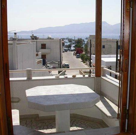 Villa Venus: η θέα από το μπαλκόνι μας