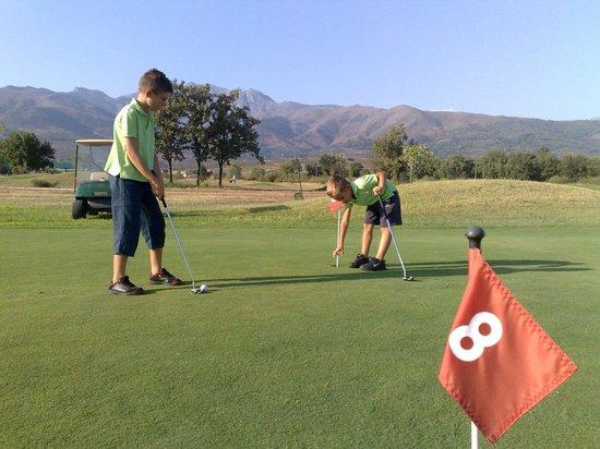 Campo De Golf De Candeleda: Putting-Green