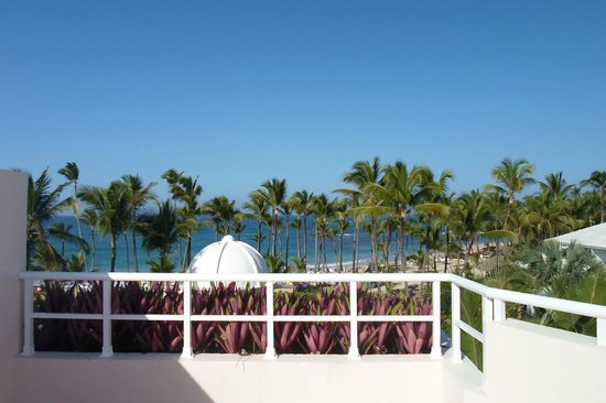 Excellence Punta Cana: View from our rooftop terrace