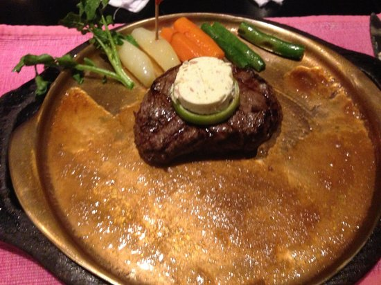 Angus Steakhouse : Tenderloin steak