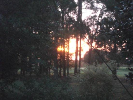 Highlands Reserve Golf Resort: sunset on golf course