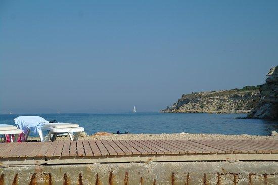 Grand Hotel Ontur: plaża